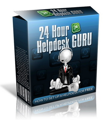 Product picture 24 Hour Helpdesk Guru With Resale Right