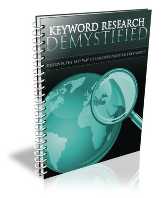 Product picture Keyword Research Demystified With Private Label Rights