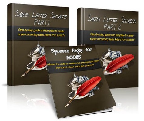 Product picture Sales Letter Secrets With Master Resell Rights