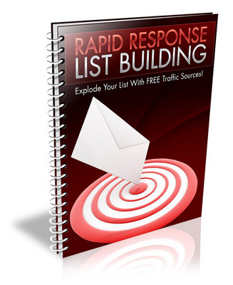 Product picture Rapid Response List Building With Private Label Rights