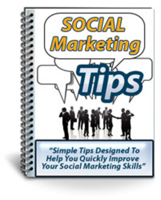 Product picture Social Marketing Tips With Private Label Rights